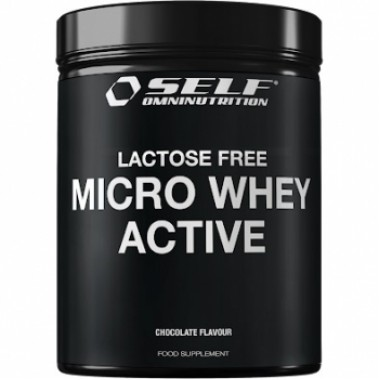SELF - MICRO WHEY ACTIVE LACTOSE FREE 1 kg. cookie cream