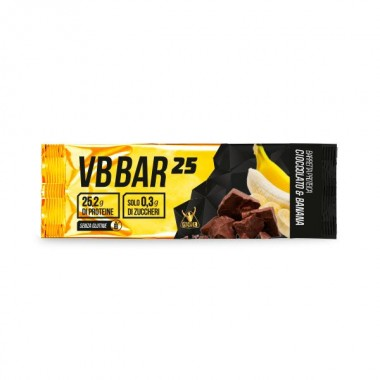 NET - VB BAR 25 barretta 50 gr. cioccolato- banana