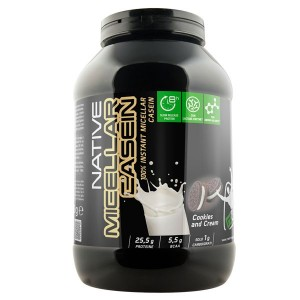 NET - NATIVE MICELLAR CASEIN 900 gr. cookies and cream
