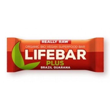 LIFEFOOD - Barretta Lifebar plus noci brasiliane guaranà gr.47