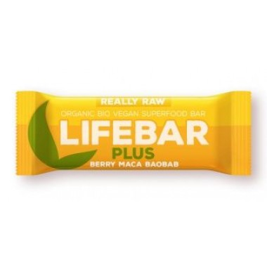 LIFEFOOD - Barretta Lifebar plus mirtillo maca baobab gr.47