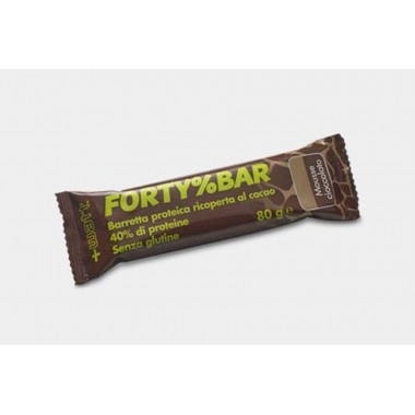 + Watt - Forty%Bar barretta 80 gr. Mousse cioccolato