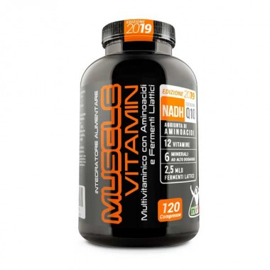 NET - MUSCLE VITAMIN 2019 120 cpr.