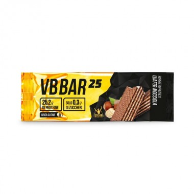 NET - VB BAR 25 barretta 50 gr. wafer nocciola